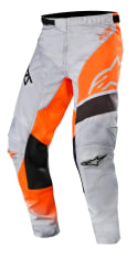 Spodnie cross/enduro ALPINESTARS MX RACER SUPERMATIC kolor fluorescencyjny/pomarańczowy/szary