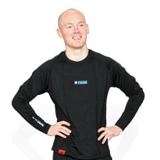 Bluzka termoaktywna OXFORD LAYERS WARM DRY MEN'S TOP kolor czarny