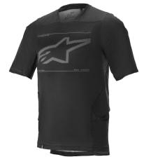 Koszulka rowerowa ALPINESTARS DROP 6.0 S/S JERSEY kolor czarny