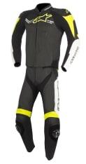 Kombinezon dwuczęściowy CHALLENGER V2 ALPINESTARS kolor biały/czarny/fluorescencyjny/żółty