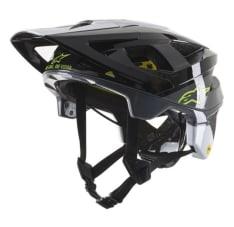 Kask rowerowy ALPINESTARS VECTOR TECH - PILOT HELMET - CE EN kolor czarny/szary