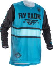 Koszulka rowerowa FLY KINETIC ERA kolor czarny/niebieski