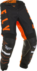 Spodnie cross/enduro FLY RACING KINETIC K120 kolor biały/czarny/pomarańczowy