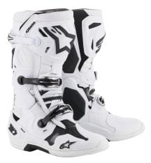 Buty cross/enduro TECH 10 ALPINESTARS MX kolor biały