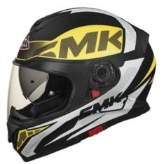 Kask integralny SMK TWISTER CARTOON MA241 kolor czarny/fluorescencyjny/zielony/żółty