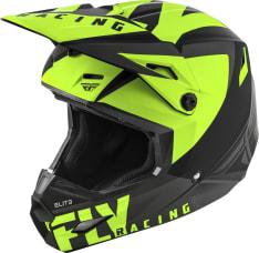 Kask cross/enduro FLY RACING Elite Vigilant VIGILANT kolor czarny/fluorescencyjny/matowy/żółty