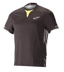 Koszulka rowerowa ALPINESTARS DROP PRO kolor czarny/żółty