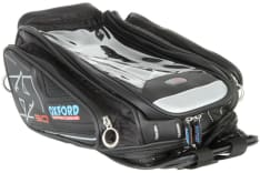 torba na bak X30 NEW pojemność 30L z paskami mocującymi do plastikowych ziorników paliwa
