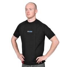 Koszulka termoaktywna OXFORD LAYERS WARM DRY SHORT SLEEVE MEN'S TOP kolor czarny