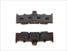 Klocki hamulcowe przód, przeznaczenie: droga, materiał: platinum-P, 90x52x8mm KAWASAKI VN, ZRX, ZX-12R, ZX-6R, ZX-7R, ZX-9R; SUZUKI GSF, GSX, GSX-R, TL, VZ 600-1600 1996-
