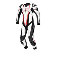 Kombinezon jednoczęściowy MUGELLO KANGAROO MIX RACE SPYKE kolor biały/czarny/czerwony