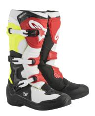 Buty cross/enduro TECH 3 ALPINESTARS MX kolor biały/czarny/czerwony/fluorescencyjny/żółty