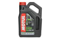 Olej do silników 4T 4T MOTUL 5100 SAE 10W40 4l SM JASO MA-2 Półsyntetyczny wzbogacony estrami