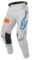 Spodnie cross/enduro ALPINESTARS MX RACER TECH ATOMIC kolor fluorescencyjny/niebieski/pomarańczowy/szary