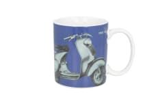 Kubek ceramiczny Vespa ahead blue