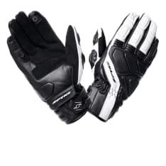 Rękawice sportowe SPYKE SPORT TOURING LEATHER kolor biały/czarny