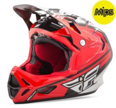 Kask rowerowy FLY WERX (Mips) RIVAL kolor biały/czarny/czerwony