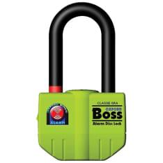 Blokada tarczy hamulcowej z alarmem OXFORD Big Boss kolor żółty trzpień 16mm