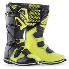 Buty cross/enduro MAVERIK FLY RACING kolor fluorescencyjny/żółty
