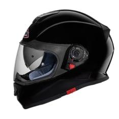 Kask integralny SMK TWISTER BLACK GL200 kolor czarny