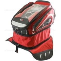 torba na bak OXFORD X30 QR ADVENTURE TANK kolor czerwony