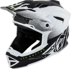 Kask rowerowy FLY DEFAULT kolor biały/czarny