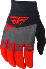 Rękawice cross/enduro FLY RACING F-16 kolor czarny/czerwony/szary