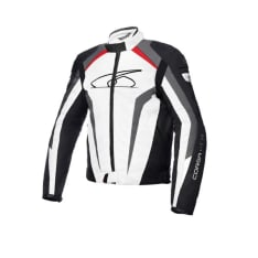 Kurtka sportowa SPYKE CORSA GT-R kolor biały/czarny/czerwony