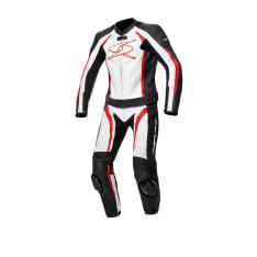 Kombinezon dwuczęściowy BLASTER GT-S SPYKE kolor biały/czarny/czerwony