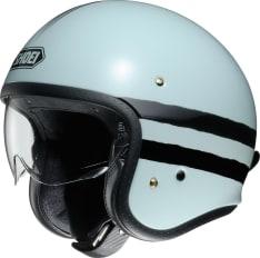 Kask otwarty SHOEI J.O SEQUEL TC-10 kolor błękitny/czarny