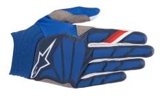 Rękawice cross/enduro ALPINESTARS MX AVIATOR kolor biały/niebieski