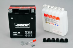 Akumulator AGM/Bezobsługowy/Rozruchowy 4 RIDE 12V 6Ah 90A P+ 114x71x131 Suchoładowany z elektrolitem APRILIA MOJITO, SR; BETA ALP 4T; HONDA CA, CB, CBF, CBR, CMX, FES, NES, NX 125-600 1982-