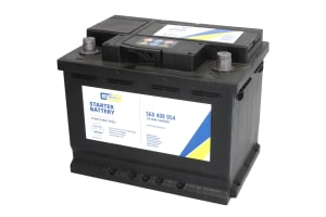 CARTECHNIC Autobaterie Ultra Power 12V 60Ah 540A, 560408054, alternativa - 0 092 S40 050