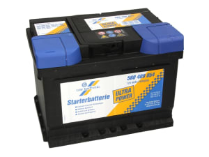 CARTECHNIC Autobaterie Ultra Power 12V 60Ah 540A, 560409054, alternativa - 0 092 S40 040