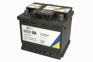 CARTECHNIC Autobaterie Ultra Power 12V 52Ah 470A, 552400047, alternativa - 0 092 S40 020