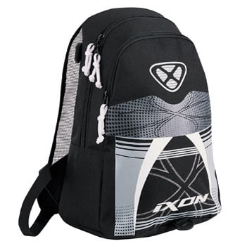 cbdd038894a1f plecak IXON X-POUCH kolor czarny biały - I M Inter Motors