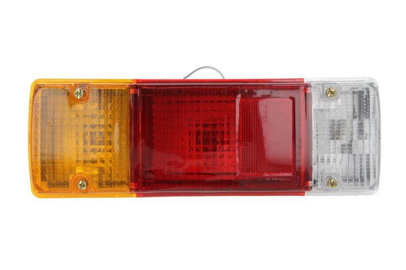 Stop tripla lampa spate stanga dreapta (Semnalizator portocaliu, culoare sticla: rosu) TOYOTA LAND CRUISER 1984-1996 0
