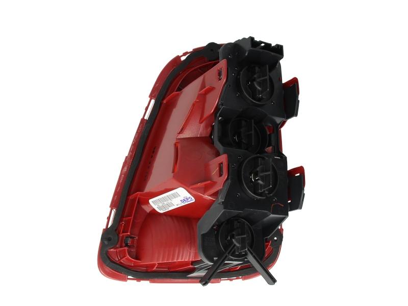 Stop lampa spate stanga culoare semnalizator portocaliu culoare sticla rosu MINI ONE / COOPER R56, R57, R58, R59 Hatchback intre 2006-2010 1